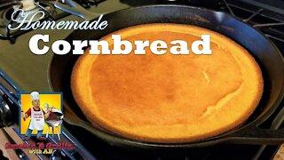 Homemade Cornbread Recipe | Cornbread Recipe