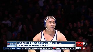 Josiah Hill wins State Title