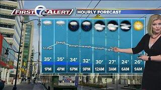 7 First Alert Forecast 0306 - Noon