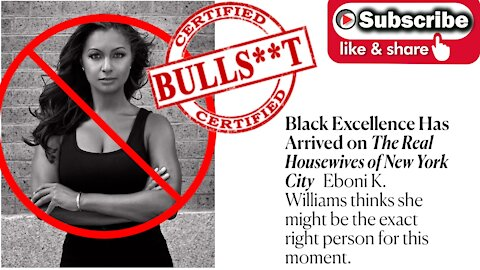 Eboni K. Williams on #RHONY is the epitome of what's wrong with Black Liberal Women