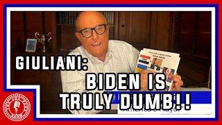 Rudy Giuliani Goes SAVAGE on Joe Biden!