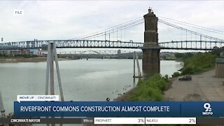 Riverfront Commons project nearing completion