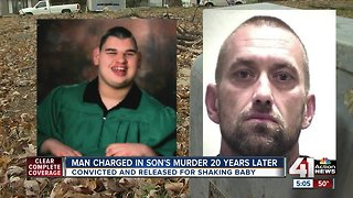 Man charged with murder years after shaking baby