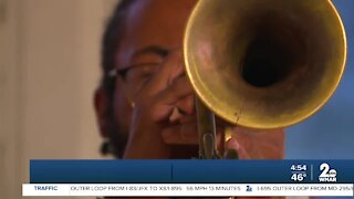 Local Trumpeter in Global Campaign