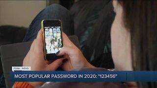 Most common password of 2020