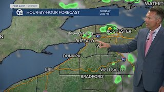 7 First Alert Noon Forecast, Monday, July 26