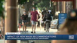 Impact in Arizona of new mask recommendations