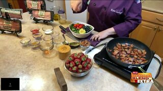 Blend Extra: A Super Summer Berry Bacon Salad