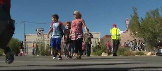 Return to school means kids in the crosswalks