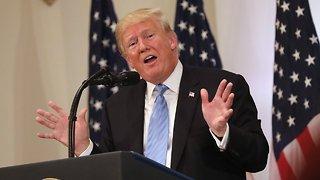 President Trump Gives Rare Solo Press Conference