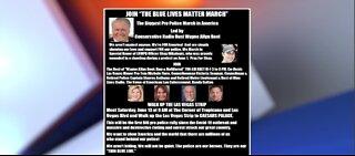 Blue Lives Matter event postponed in Las Vegas
