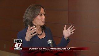 Kamala Harris to run for president in 2020
