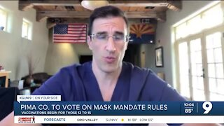 Pima County expected to adopt CDC mask guidelines