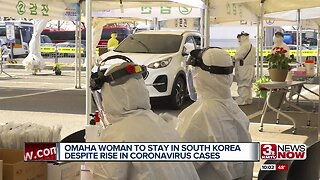 Omaha woman to stay in South Korea despite rise in coronavirus cases