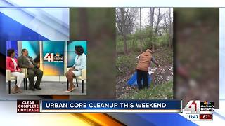 Urban core cleanup this weekend