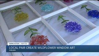 Wallflower Window Art in Chelsea