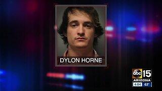 Man steals car with two kids inside, flees after crash