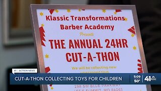Cut-A-Thon collecting toys for children