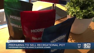 Dispensaries waiting for approval to sell recreational marijuana