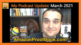 My Podcast Update: March 2021