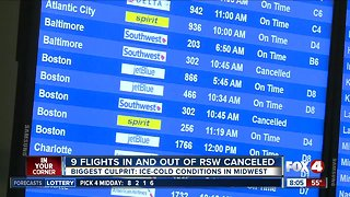 Flights to and from Midwest facing cancellations in Southwest Florida