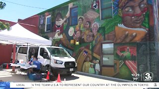 Douglas County Health Department hosts vaccine clinic at fiesta