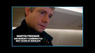 Martin Freeman and Benedict Cumberbatch Best Scenes of Sherlock🎬