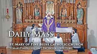 Holy Mass for Monday, March 8, 2021