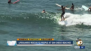 Beach safety concerns