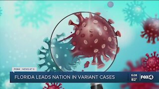 Florida leading the nation in COVID variant cases