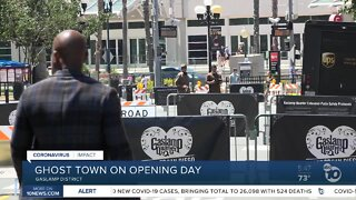 Padres' Opening Day was a ghost town