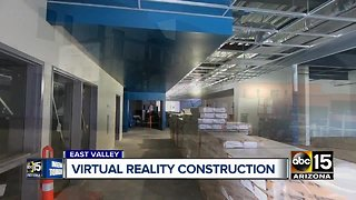 Virtual reality construction