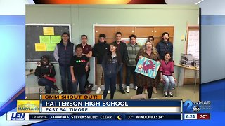 Good morning from Patterson High School!
