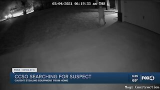 Residential construction site theft
