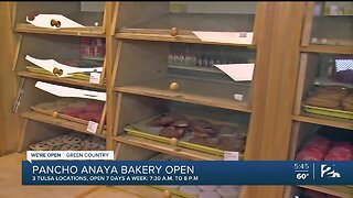 We're Open Green Country: Pancho Anaya Bakery
