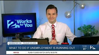 What To Do If Unemployment Is Running Out