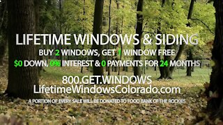 Lifetime Windows & Siding // Fall Sale!