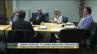 Warren expected to change marijuana ordinance following complaints by Roseville residents