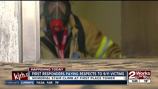 First responders pay respect to 9/11 victims