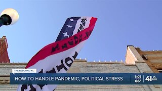 How to handle pandemic, political stress
