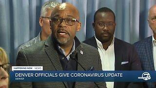 Mayor Michael Hancock gives update on coronavirus in Denver