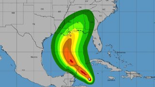 Tropical Storm Zeta Forming, Could Reach Gulf Coast By Wednesday