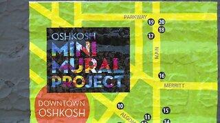 Oshkosh introduces its first mini mural project
