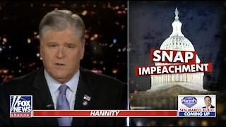 Hannity warns McConnell on impeachment: 'You should know better'