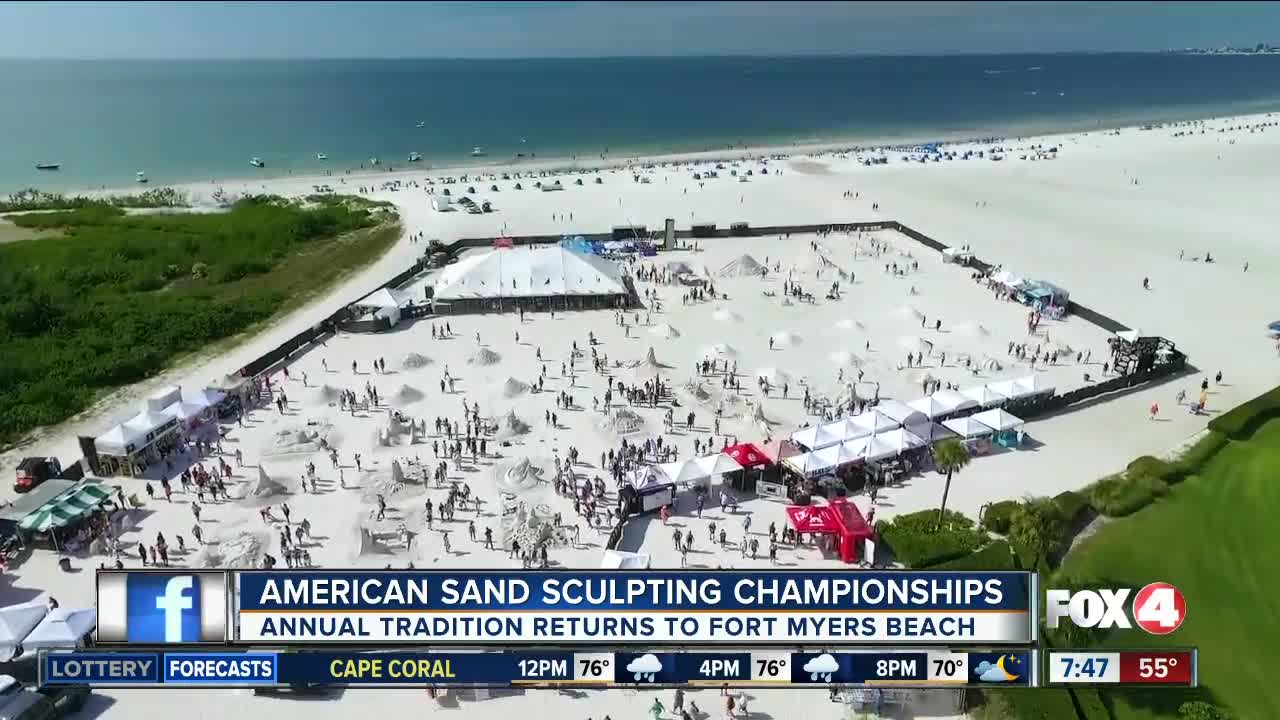 Annual American Sand Sculpting Championship kicks off this week