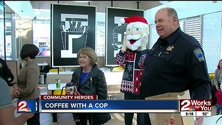 Community Heroes: Coffee with a Cop