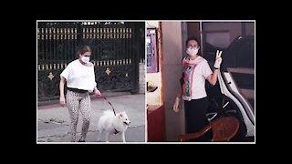 Malaika Arora & Karisma Kapoor Spotted in Bandra | SpotboyE