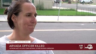 Woman who lives nearby Arvada shooting scene describes scene