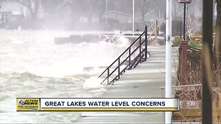 Concerns raised over Great Lakes water levels