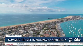 Summer travel is making a comeback